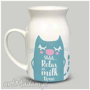 Prezent Bańka Relax its Milk, mleko, kakałko, prezent, personalizacja, bańka