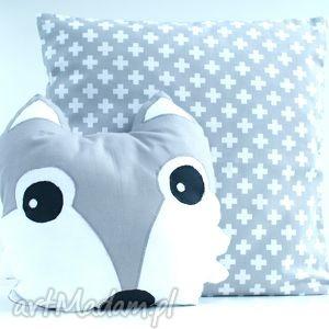 poduszka lisek - poduszka, przytulanka, dziecko, łóżeczko, pokój