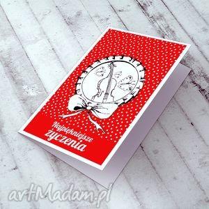 handmade kartki karteczka z życzeniami