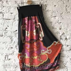 święta, etno-spódnico-spodnie, etno spodnie, spódnico baggy, boho spodnie