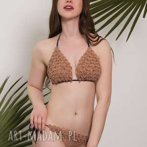 kostium kąpielowy szydełkowy afrodyta, kostium, strój, bikini, kąpielowy, plażowy