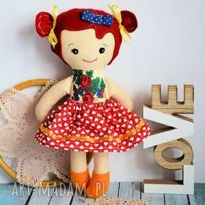 lalki lalka tancereczka - lusia 35 cm, lalka, dziewczynka, bezpieczna, folkowa