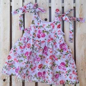prezent na święta, sukienka little flower, bawełna, letniasukienka, kwiatowa
