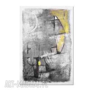 Mine 1, abstrakcja, nowoczesny obraz ręcznie malowany, obraz, ręcznie, malowany