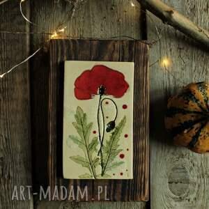 dekoracje obrazek maki, obraz, obrazek, kwiaty polne