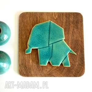 Słoń ceramika, słoń, ceramiczny, zwierzęta