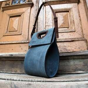 torebki ręcznie wykonana skórzana torba od polskich projektantów ladybuq art