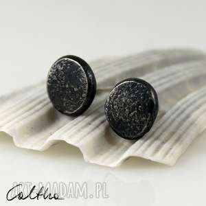 Gwoździki - srebrne sztyfty, kolczyki, wkrętki, srebro,