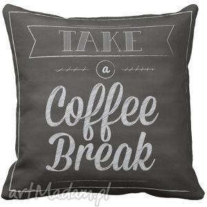 poduszki poduszka dekoracyjna kawa coffe break 6542, coffe, dekoracyjna