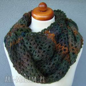 szal ażurowy - kolory do wyboru (szalik ażur, cieniowany, prezent)