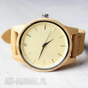 Damski drewniany zegarek natural zircon zegarki ekocraft