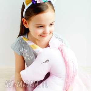 bajkowy jednorożec poduszka przytulanka dekoracja pokoju dziecka, unicorn