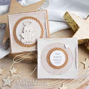 handmade scrapbooking kartki pudełeczko z kartką pełne uczuć i słów. Na każdą okazję