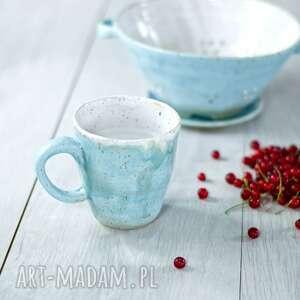 AzulHorse Średni kubek ceramiczny seria rustic | nowoczesna
