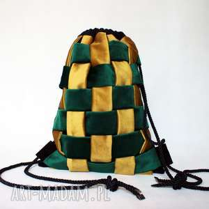 bbag plecak braid, prezent, aksamitny, welurowy, zamszowy, worek