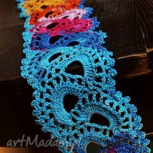 Kolorowe zawijasy - dekoracja stołu dekoracje zaamotanazofja