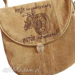 motóóóor nie umiera nigdy, motor, motór, zamsz, beż, skóra, retro