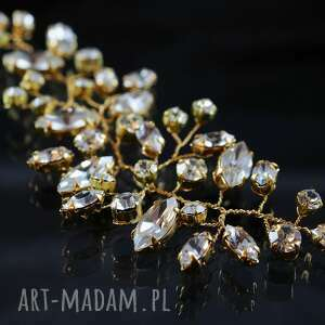 w blasku kryształów 3, ślub, preciosa, ozdoba, kryształ, złote