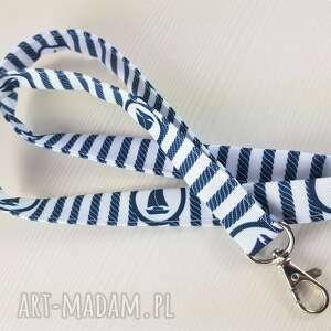 żeglarska smycz do kluczy lub legitymacji, smycz, kluczy, brelok