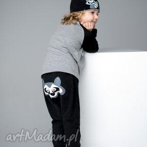 Spodnie baggy, spodnie, diversodesign, szop, ubranka, dzieci
