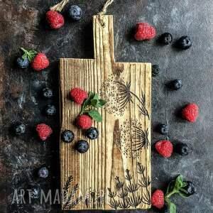 kuchenna deska dekoracyjna w stylu rustykalnym, styl prowansalski, rustykalna