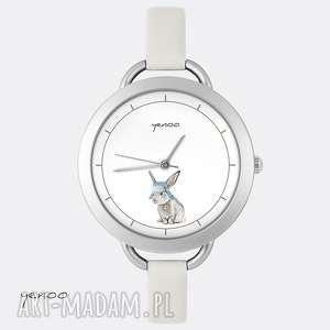Prezent Zegarek - Zając, zegarek, bransoletka, zając, królik, grafika, prezent