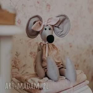 hand made maskotki mała myszka aurelka 50