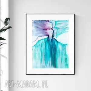 Obraz ręcznie malowany 30x40 cm, abstrakcja kobieta, 2508140 art
