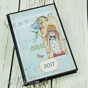 kalendarz książkowy 2017- uśmiech proszę, kalendarz, dla, fotografa, notatnik