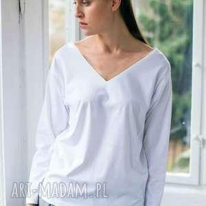 unikalny prezent, venice white bluzka oversize