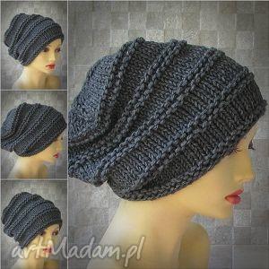 ręcznie robiona hipster hat , czapka, zimowa, hipster, gruba, ciepła, wełniana