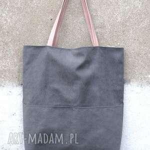 ręcznie robione torebki tote xxl puder&popiel kangoo