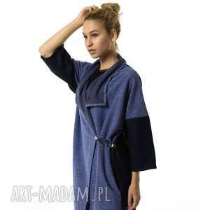 ubrania narzutka damska kardigan soprabito azzurro, wełniana