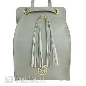 manzana plecak/torebka wygodny styl- szary, plecak, torebka, manzana, wygodny, modny
