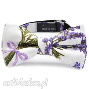 ręcznie zrobione muchy i muszki mucha lavender