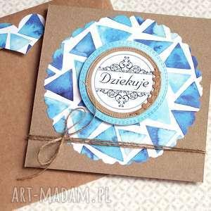 ręcznie zrobione kartki dziękuję: kartka handmade:: podziękowanie