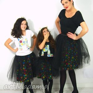 PLishkowa Beza / Mama i Córka, mamaicorka, ubraniamamacorka, folkzestaw, spodnicefolk