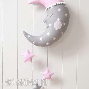księżyc - księżyc, karuzela, gwiazda, gwiazdka, dekoracja, ozdoba