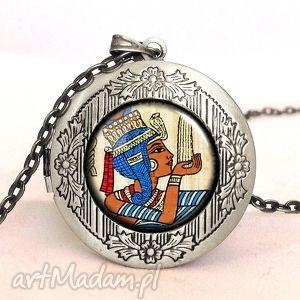 egginegg egipskie hieroglify - sekretnik z łańcuszkiem, biżuteria
