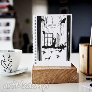 scrapbooking notesy dobry dzień - notes a5, zeszyt, notes, gładki, prezent