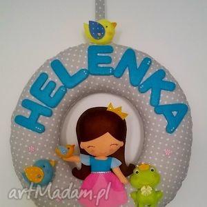 hand-made pokoik dziecka personalizowana girlanda z imieniem dziecka