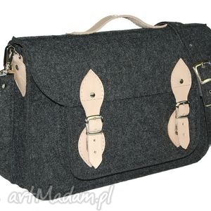 hand made na laptopa filcowa torba na laptop 15 - personalizowana-grawerowana dedykacja