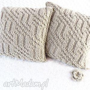 wools poduszki robione ręcznie wełna 40x40 cm 2szt, poduszki, poduszka, poszewka