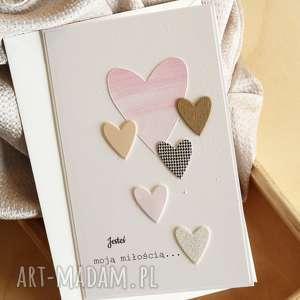scrapbooking kartki walentynka, walentynki, valentine, ukochana