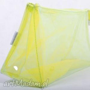 Kosmetyczka yellow tulle mini, rekodzielo