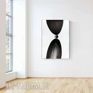 Obraz ręcznie malowany 70 x 100 cm, nowoczesna abstrakcja, 015