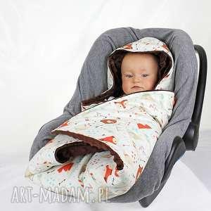dla dziecka kocyk do nosidła, kocyk, nodisło, podróż, niemowlak, samochód, chłopiec