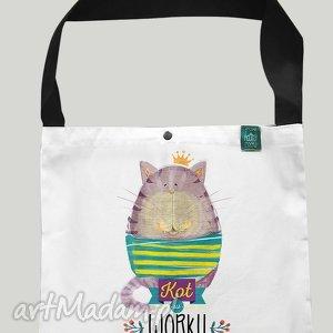 torba worek kot w worku, torba, eko, zakupy, prezent, bawełna, kot