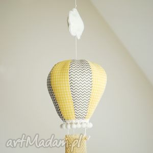Balon - ozdoba do pokoju, balon, karuzela, mobil, chmurka, zawieszka,