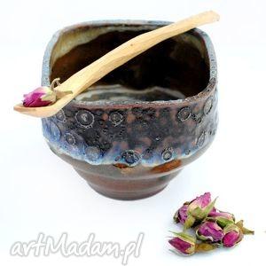 ceramiczna czarka- jt sencha nr54, czarka, naczynie, ceramika, użytkowe, unikat